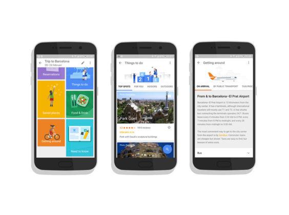 Google Trips: reisgids zonder internet