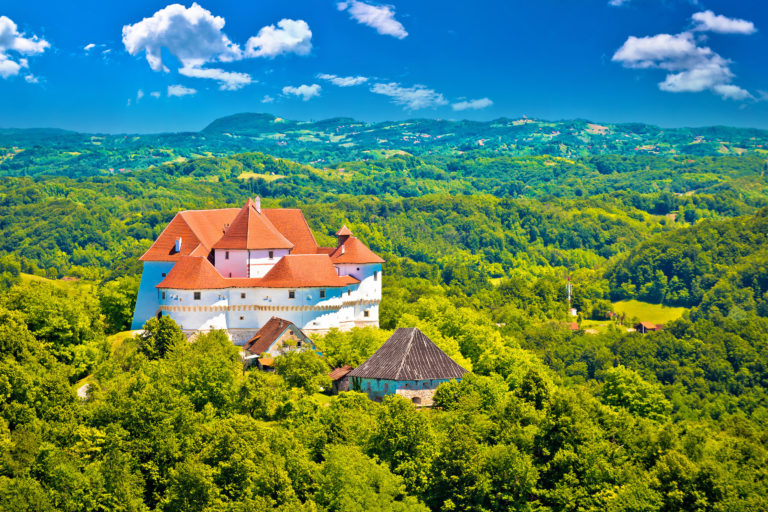 idyllic-green-landscape-of-zagorje-region-with-veliki-tabor-castle-northern-croatia